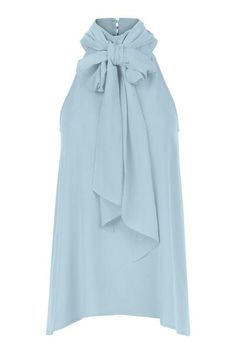 About me : Halter style top, High neckline with chiffon bow detail and gold buttons to the back of the neck, Flares at hem line. Occasion Wear, Special Occasion Dresses, Fresh Tops, Summer Fresh, Fashion Boutique, Hemline, Party Dress, Chiffon, Ruffle Blouse