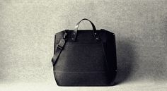 WIN The Funky Monkey GIVEAWAY: CHARBONIZE: Leather & Wool Laptop Bag - Ends 2/3/13