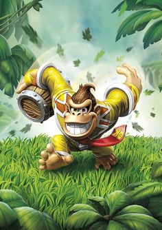 Skylanders Superchargers Donkey Kong Poster