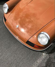 Habitually Chic® » October Inspiration 2020 Orange Aesthetic, Beige Aesthetic, Cars 1, Old Cars, Retro Cars, Vintage Cars, Palette Pastel, Vintage Porsche, Calathea