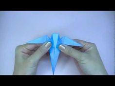 How to make Origami Bird swallow (sipho mabona) - YouTube