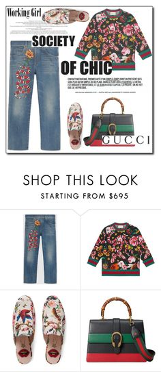 """""""Presenting the Gucci Garden Exclusive Collection: Contest Entry"""" by shoaleh-nia ❤ liked on Polyvore featuring Gucci"""