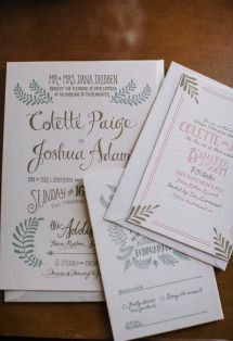Gallery & Inspiration | Category - Invitations | Page - 6 - Style Me Pretty