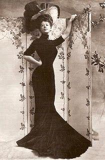Edwardian Fashion- The Gibson Girl (Camille Clifford) - Picmia