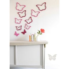modern wall decor applications wallter canada - jack + jade home I modern canadian living Butterfly Bedroom, Butterfly Wall Decor, Green Butterfly, Girl Room, Girls Bedroom, Bedroom Ideas, Kids Wall Decor, Wall Decorations, Modern Kids