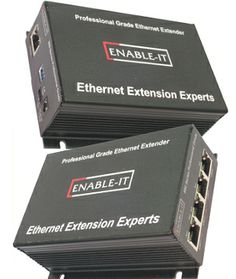 Enable-IT 860 100Mbps Full Duplex Ethernet Extender Kit | http://www.ethernetextender.com/ethernet-extension-products/vx-veb160.php