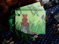 Bear Gift Tags Set Includes 12 1Dozen by mariesimagination on Etsy, $10.00