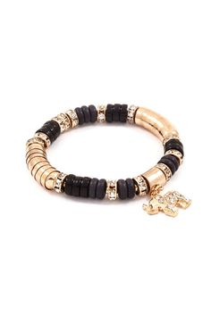 I don't like Pandora bracelets, but if this is truly 14K with ebony and diamonds, I could like it - minus the little animal thing.