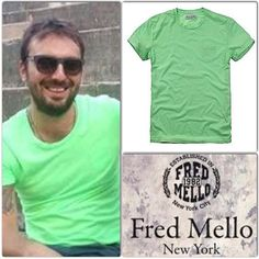 Cesare Cremonini indossa la tshirt collezione pe 2013 #Total look #Fashion #New york #style #collectionss13 #t-shirt#cesarecremonini