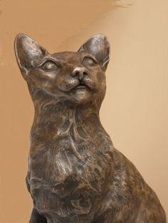 "Смола скульптура художника Линда Прис под названием: ""Тина - Окикат 330 х 28 х 15,5 см - это LifeSize скульптура Цена: £200"