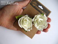 ProjectGallias: Flower hair accessories, hairpin 100%handmade, Kwiatowa spinka, wsuwka. Rękodzieło
