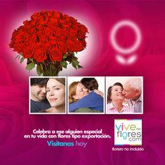 Celebra a ese alguien especial en tu vida y aprovecha la oportunidad de disfrutar flores tipo exportación el día del Amor y la Amistad. Te esperamos en www.vivelasflores.com