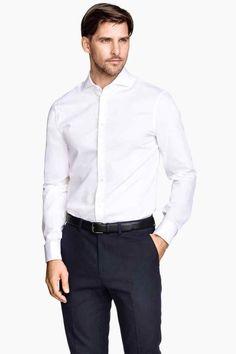 Košeľa zbavlny premium | H&M