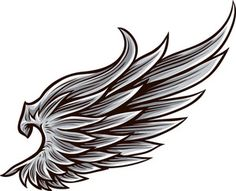Get Wings Vector Element royalty-free stock image and other vectors, photos, and illustrations with your Storyblocks Imagesmembership. Feather Tattoo Design, Wing Tattoo Designs, Feather Tattoos, Tribal Tattoos, Celtic Tattoos, Tattoos Skull, Eagle Wing Tattoos, Wing Tattoo Men, Sweet Tattoos