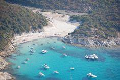 Vista aerea della spiaggia del Lotu - St Florent - Corsica