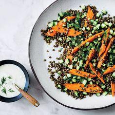 Carrot-Lentil Salad