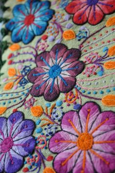 Peru embroidery
