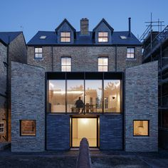 Victorian semi-detached houses in Oxford / by Delvendahl Martin Architects