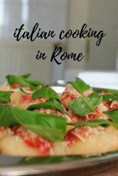 Italian Cooking in Rome