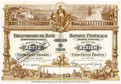 UBS Banks, Stocks And Bonds, Savings Bank, Ubs, Certificate, Switzerland, Vintage World Maps, Safe Room, Certificate Of Deposit