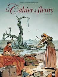 Le cahier à fleurs, by galandon & nicaise, 12/01/15