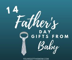 Do you know a first time dad who would love a handmade gift for Father's Day from his new baby? Here is a list of the best 14 gifts for daddy!