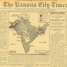 Partition of India New Era for India Gandhi Nehru Jinnah 15 August 1947 15 August Independence Day, India Independence, Vintage India, Vintage Ads, Vintage Newspaper, 15 August 1947, 15 August Images, Image 4k, India Win