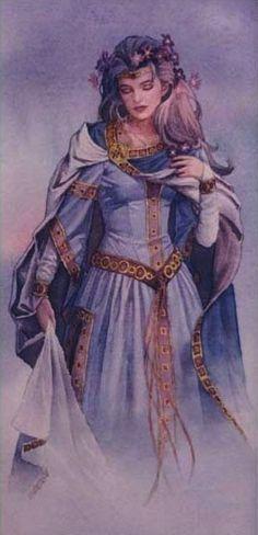 ☆ The Goddess Frigga in Norse Mythology :¦: Artist Jonathon Earl Bowser ☆