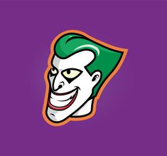 Sticker concept: 90s Joker 🃏 Joker, Concept, Graphic Design, Stickers, The Joker, Jokers, Comedians, Visual Communication, Decals