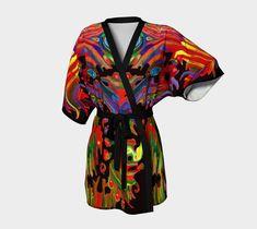 "Kimono+Robe+""FRIEDRICH+BLACK""+by+ART+OF+THE+MYSTIC+OTTO+RAPP Black Kimono, Chiffon Fabric, Mystic, My Style, Fashion Design, Clothes, Art, Outfits, Art Background"