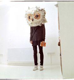 just love owls, interesting.