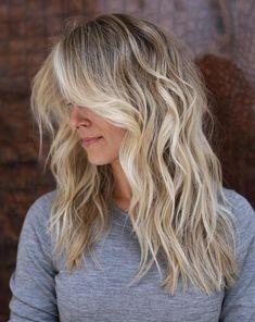 Bright Blonde Balayage For Dishwater Blonde