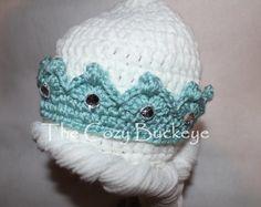 Congelés de Elsa Couronne de princesse chapeau par TheCozyBuckeye