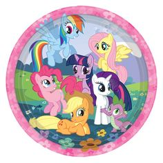 My Little Pony Party Plates