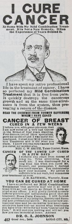 Cure for Cancer (1907)