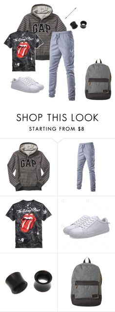 """Untitled #693"" by akts ❤ liked on Polyvore featuring Gap, NOVICA and Quiksilver"