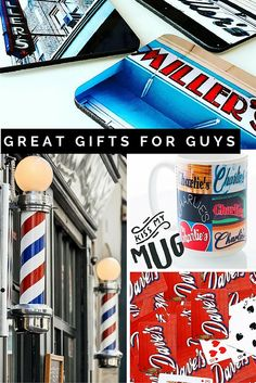 Need a great gift for your guy? Check out these awesome ideas featuring his name in photos of signs.