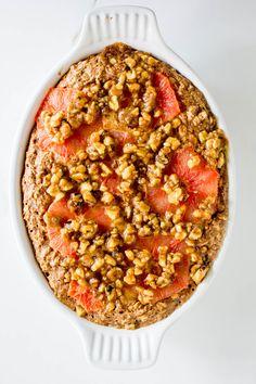 grapefruit baked oat