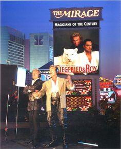 My first Las Vegas Show. Siegfried & Roy.