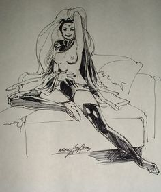 Storm by Neal Adams More X-Men @ http://groups.yahoo.com/group/Dawn_and_X_Women & http://groups.google.com/group/Comics-Strips & http://groups.yahoo.com/group/ComicsStrips ~Inge~ @ http://www.facebook.com/ComicsFantasy & http://www.facebook.com/groups/ArtandStuff