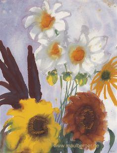 emil nolde, gartenblumen, 1930