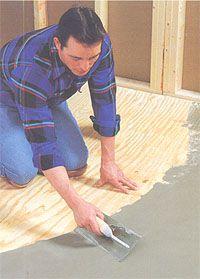 Ardex Liquid Backerboard Over Wood Subfloor To Allow