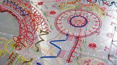 Bella Leonard - Embroidery on Perspex