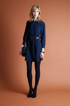 A.L.C. fall winter 2013. Trend: the shirt dress, simple, feel for the 60's.