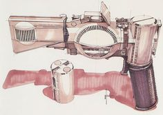 Blade Runner concepts by Syd Mead