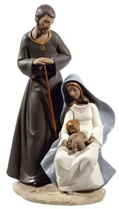 The Holy Family NAO Figurine. Shop the entire NAO by LLadro Porcelain Figurines Collection at AllSculptures.com
