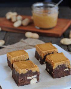 Peanut Butter Chocolate Fudge