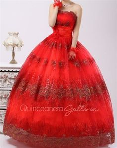 I think we all know how I feel about red poofy dresses ;)