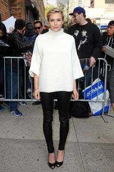 Best Dressed: Did you like Elizabeth Olsen's monochrome look? http://www.graziadaily.co.uk/2015/04/best-dressed-april-2015-scarlett-johansson#.VUC0fGbisbB…