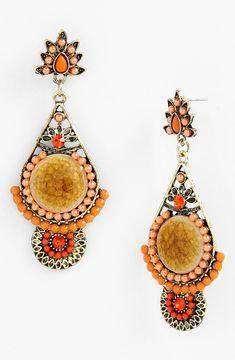 Gypset Boho Drop Earrings | Bohemian Jewelry